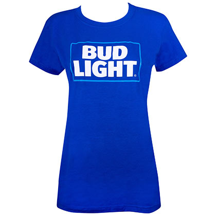 T-shirt Bud Light da donna