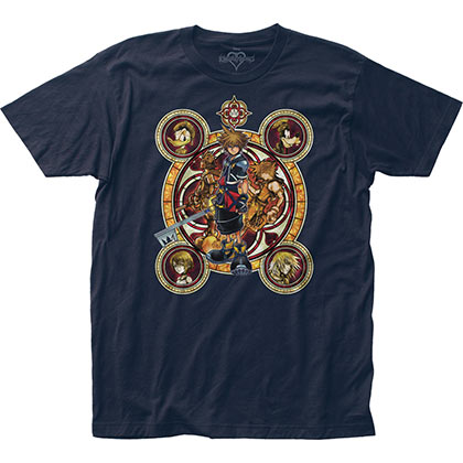 T-shirt Kingdom Hearts da uomo