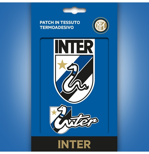 Inter patch in tessuto termo-adesivo Grafica