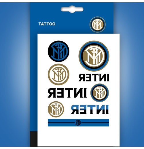Inter tatuaggi temporanei mini Loghi