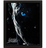 Game Of Thrones (Jon Snow Vs Knight King) 10X8 3D  (Poster Lenticolare 3D)