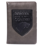 Game Of Thrones: Winter Is Coming Passport Wallet (Boxed) (Portadocumenti)