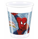 Marvel: Ultimate Spider-Man - 8 Bicchieri 200 Ml