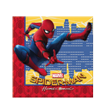 Marvel: Spider-Man Home Coming - 20 Tovaglioli Carta Doppio Velo 33 X 33 Cm.