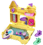 Mattel GCJ87 - Polly Pocket - Playset Tascabile - Castelli Di Sabbia