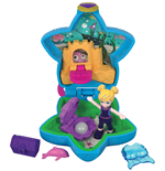 Mattel FRY33 - Polly Pocket - Tascabile Sempre Con Te - L'Acquario Di Polly