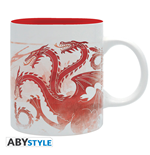 "Game Of Thrones - Mug - 320 Ml -""Red Dragon"" - Subli - With Boxx2"
