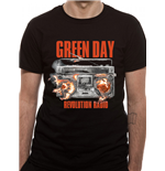 T-shirt Green Day - Design: Revolution Radio