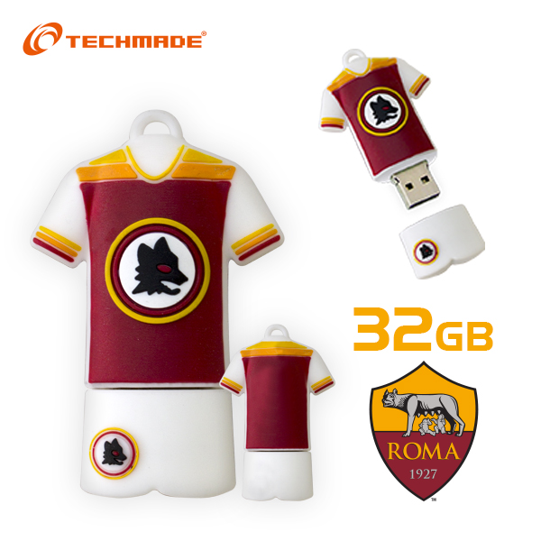 Techmade Pendrive 32GB Ufficiale As Roma
