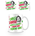 Elf (Omg Santa) 11Oz Mug (Tazza)