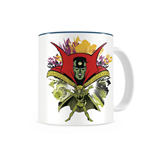 Doctor Strange Face White Mug