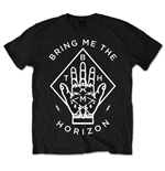 T-shirt Bring Me The Horizon unisex - Design: Diamond Hand
