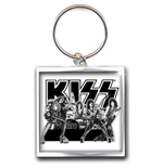 Kiss - Graphite Band (Portachiavi Metallo)