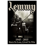 Poster Lemmy - Design: Lived to Win