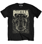 PANTERA: 101 Proof Skull Black (T-SHIRT Unisex )