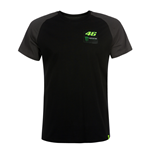 T-shirt uomo Monster nera VR46