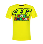 T-shirt uomo logo 46 THE DOCTOR gialla VR46