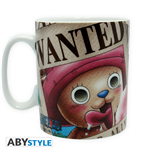 One Piece - Mug - 460 Ml - Chopper Wanted -  Porcl. With Box