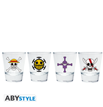 One Piece - Shot Glass Emblem