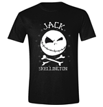 Nightmare Before CHRISTMAS: Jack Face Black (T-SHIRT Unisex )