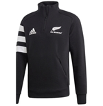 All Blacks Felpa MEZZA-ZIP 3 Stripes