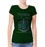 Harry POTTER: Slytherin Team Quidditch (T-SHIRT Donna )