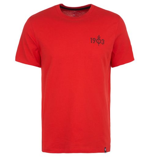 T-shirt Atletico Madrid 2019-2020 (Rosso)