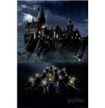 Exclu - Harry Potter (Hogwarts Boats) Maxi Poster Poster