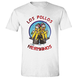 Breaking BAD: Los Pollos Cooks White (T-SHIRT Unisex )