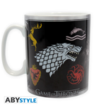 Game Of Thrones - Mug - 460 Ml - Sigles & Trone - Porcl. With Box*