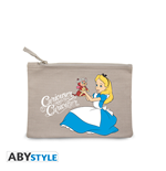 "Disney - Cosmetic Case - ""Alice Curiouser"" - Grey"