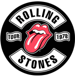 Toppa The Rolling Stones - Design: Tour 1978
