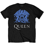 T-shirt Queen unisex - Design: Blue Crest