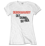 T-shirt Debbie Harry da donna - Design: Def, Dumb & Blonde
