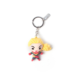 Marvel: Captain Marvel Kawaii 3D Multicolor (Portachiavi)