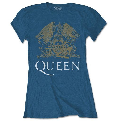 T-shirt Queen da donna - Design: Crest