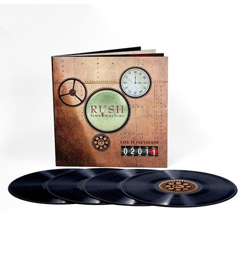 Vinile Rush - Time Machine 2011: Live In Cleveland (4 Lp)