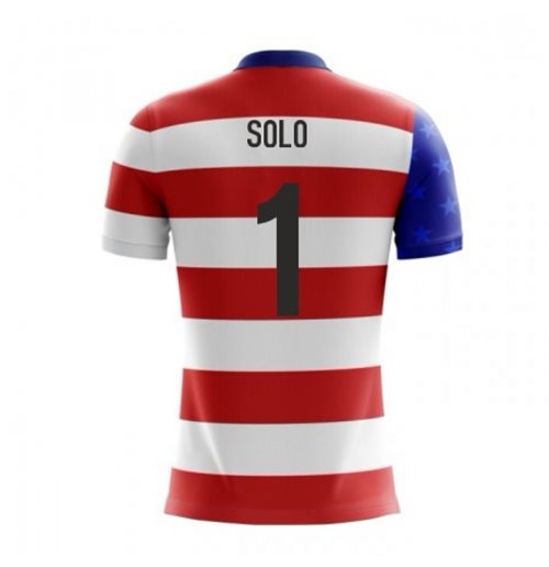 T-shirt USA calcio 2018-2019 Home