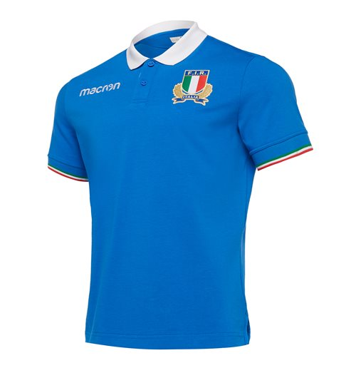 T-shirt Italia rugby 2018-2019 Home