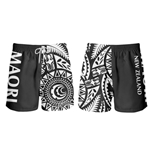 All Blacks Nuova Zelanda Short Mare Tribal