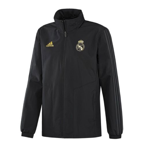 Giacca Real Madrid 2019-2020 (Nero)