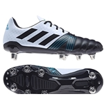 All Blacks Kakari Sg BIANCO-BLU Scarpa Rugby