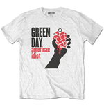 T-shirt Green Day unisex - Design: American Idiot