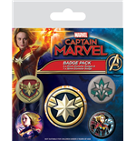 Spilla Captain Marvel 350335