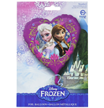 Frozen - Palloncino Mylar Cuore 45Cm