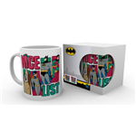 Dc Comics: Batman Comics - Nice List (Tazza)
