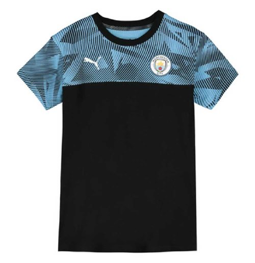 T-shirt Manchester City 2019-2020 (Nero)