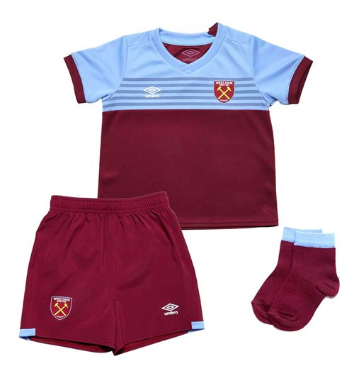 Kit da calcio per bambino West Ham United 2019-2020 Home