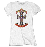 T-shirt Guns N' Roses da donna - Design: Appetite for Destruction