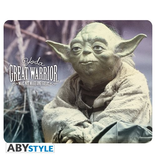 Star Wars - Mousepad - Yoda Great Warrior